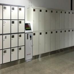 Luggage Lockers at DFO Brisbane Airport